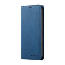 Flip leather case for Redmi Note 9 blue