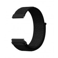 Nylon bracelet 20mm black