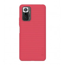 Nillkin Super Frosted Shield for Redmi Note 10 Pro Bright Red