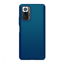 Nillkin Super Frosted Shield for Redmi Note 10 Pro Peacock Blue