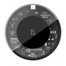 Baseus Simple Wireless Charger 15W Transparent