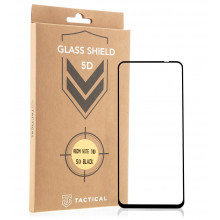 Tactical Glass Shield 5D for Redmi Note 10 4G / Note 10S black