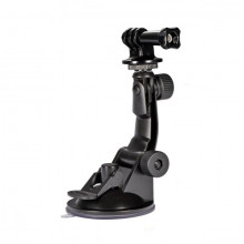 Suction cup holder for action camera