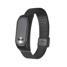 Luxury steel bracelet for Mi Band 2