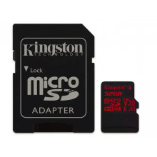 Kingston micro SDHC 32GB UHS-I V30 + adaptér