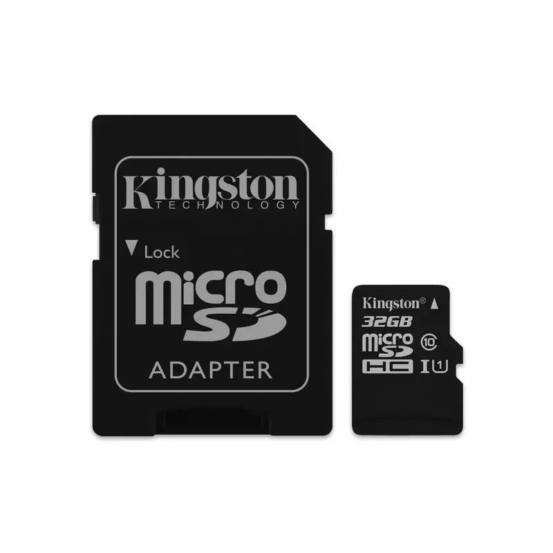 Kingston microSDHC 32GB Canvas Select UHS-I + adaptér