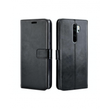 Flip case with pockets for Redmi 8 - black