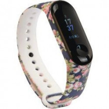 Colorful band for Mi Band 5 - flowers