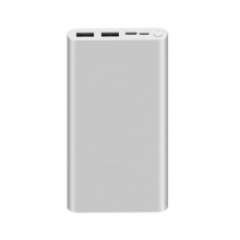 Xiaomi 10 000mAh 18W Fast Charge Power Bank stříbrná