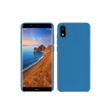 Sillicone case for Redmi 8A blue