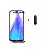 5D glass for Redmi Note 8T + photo lens glass
