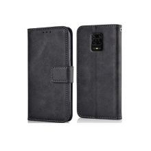 Flip case with pockets Redmi Note 9 black