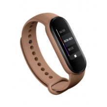 Silicone band for Mi Band 4/5 - brown