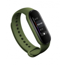 Silicone band for Mi Band 5 - army green