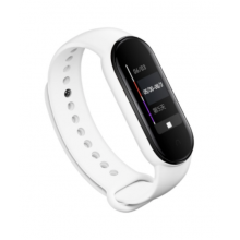 Silicone band for Mi Band 5 - white