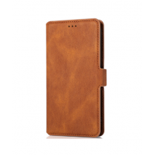 Flip case with pockets Redmi 9 brown