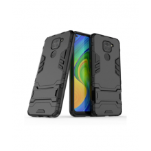 Durable case for Redmi Note 9 black