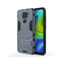 Durable case for Redmi Note 9 grey