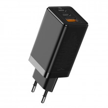 Baseus GaN Quick Travel Charger 65W black