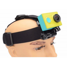 Head strap for action camera