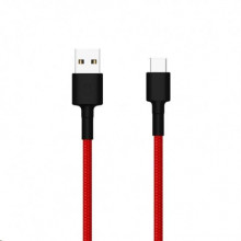 Mi Type-C Braided Cable red