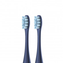 Brush head (2pcs) for Oclean X Pro original blue