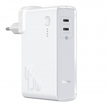 Baseus Power Station GaN 2in1 10000mAh C+C 45W White